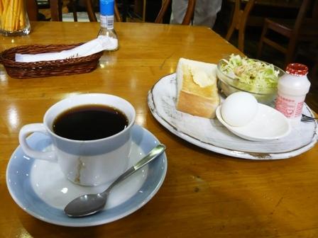 喫茶ギンマジョ:モーニングサービス1