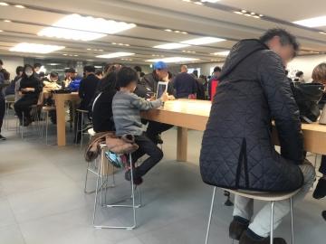 20180211-Apple Store 銀座 (1)-加工