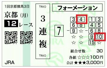 【馬券】300108京都12_2(長生式馬券スタイル)