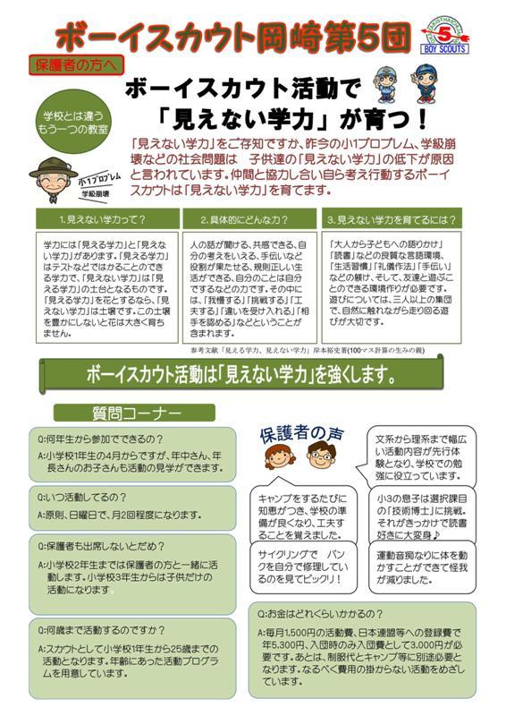 H30年入団説明会(平成30年2月25日)裏面_01
