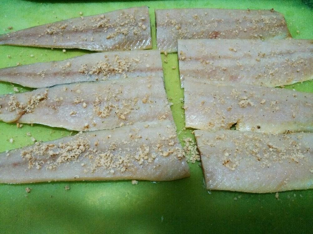 サンマの野菜巻きの作り方3