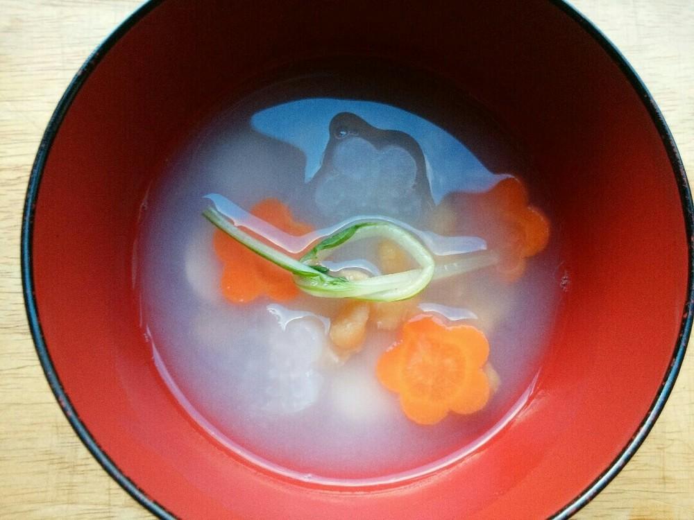 お雑煮風ごはんの作り方10