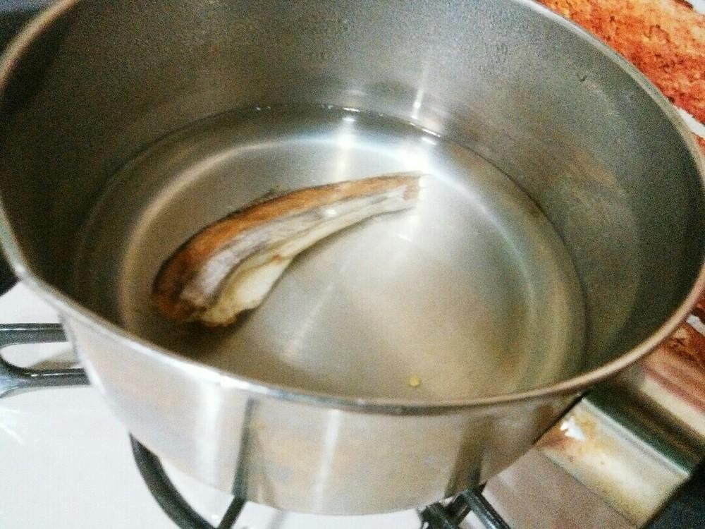 氷下魚のおじやの作り方1