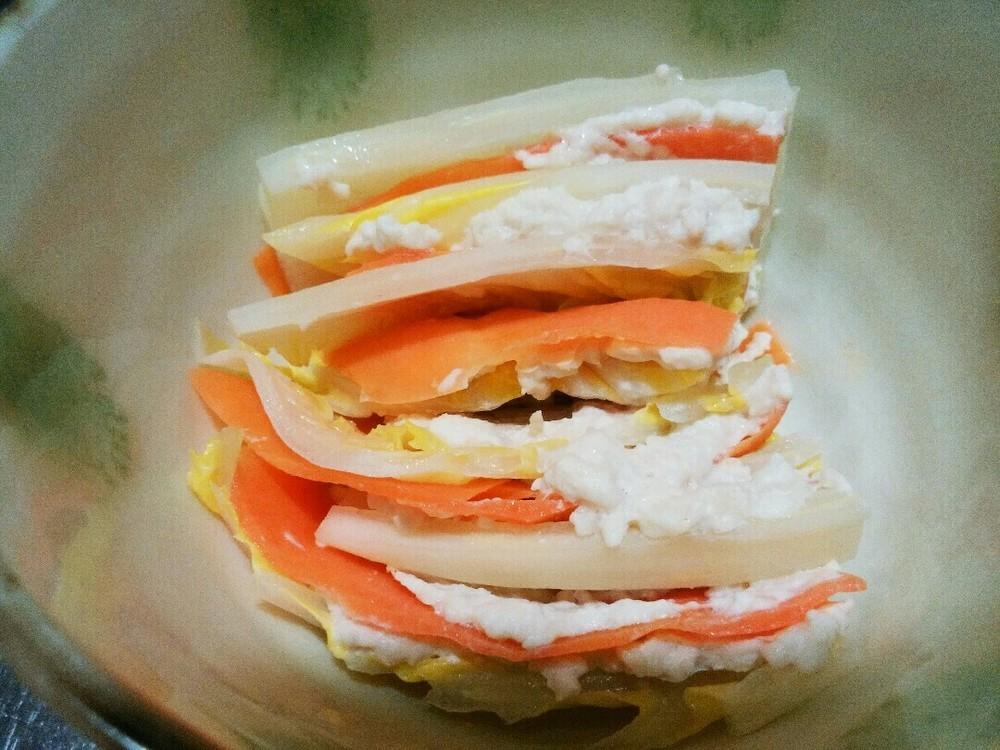 白菜のミルフィーユの作り方6
