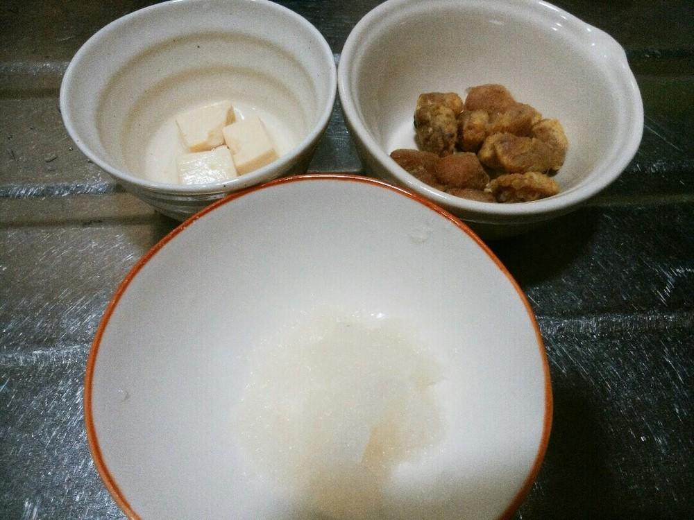 大根おろしの汁かけごはんの作り方1