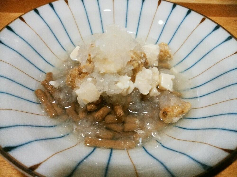大根おろしの汁かけごはんの作り方4