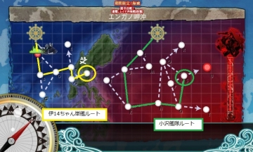 E-3マップ(解除前)