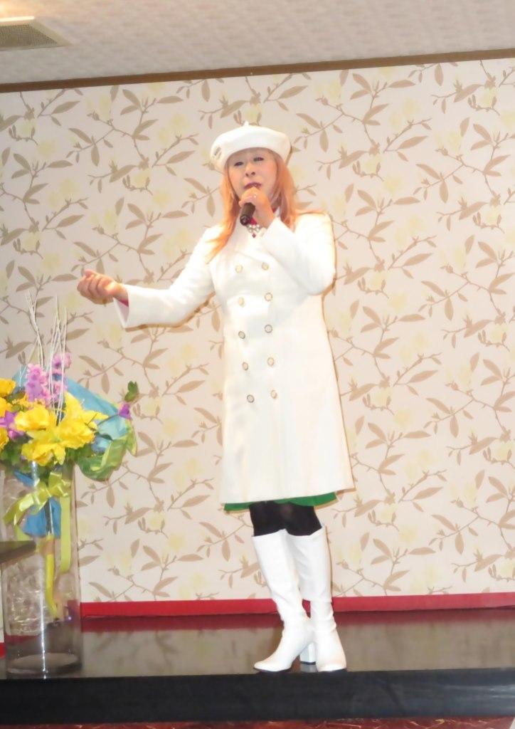白ドレスコートカラオケ(6)