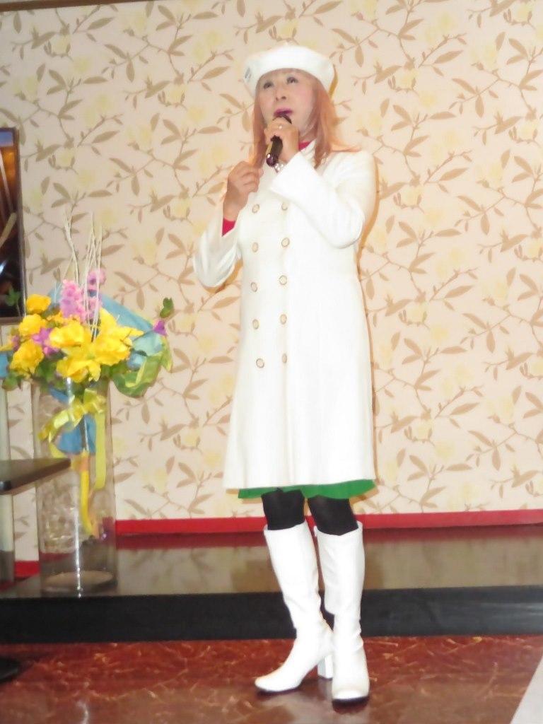 白ドレスコートカラオケ(8)