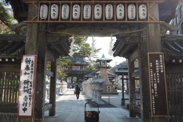 H30010601誕生寺初詣