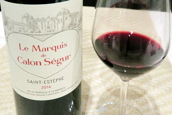2014年1月大人ワイン_ル・マルキ・ド・カロン・セギュール 2014