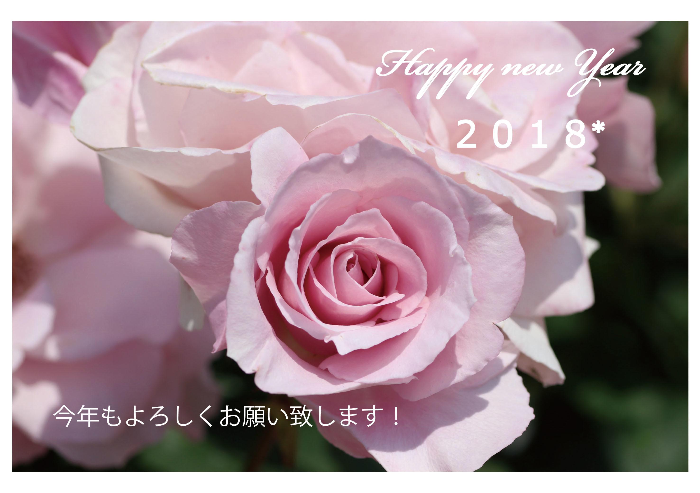 2018年新年ご挨拶