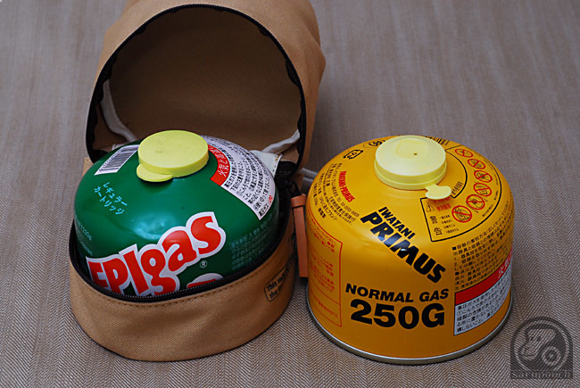250g 230g primus EPI ガスカートリッジ OD缶 収納袋 サルパウチ