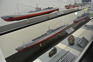 昔の潜水艦