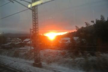 関ヶ原の夜明け