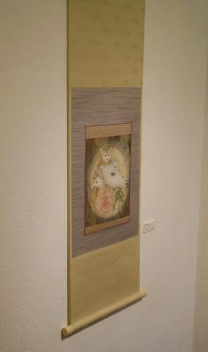 日本画5人展 狗子図