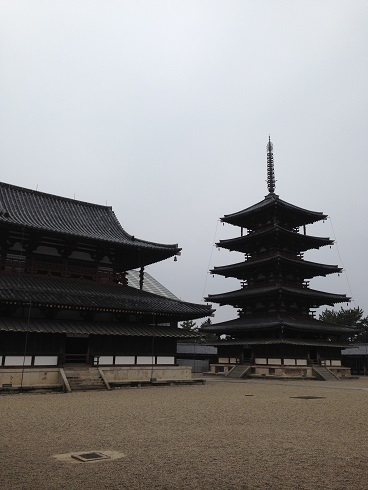 世界最古の木造建築