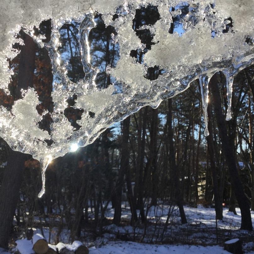 fmさくだいら収録&冬の風景