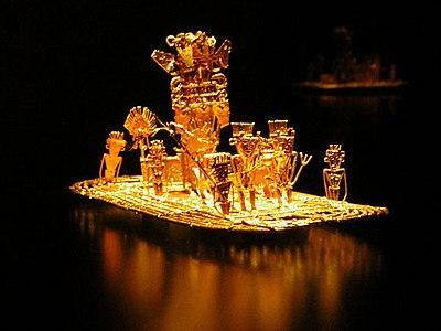 400px-Muisca_raft_Legend_of_El_Dorado_Offerings_of_gold.jpg