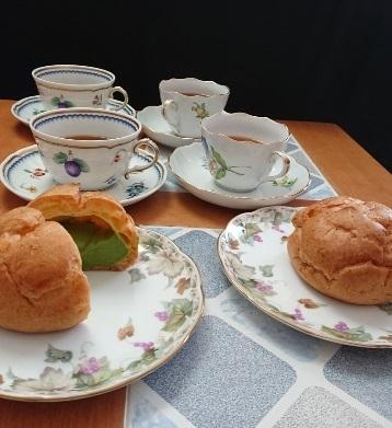 抹茶シュー