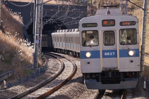 2017-12-27 東急8637F 各停押上行き