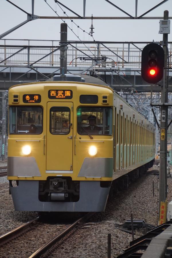2017-01-20 西武2019F 各停西武園行き 5710レ