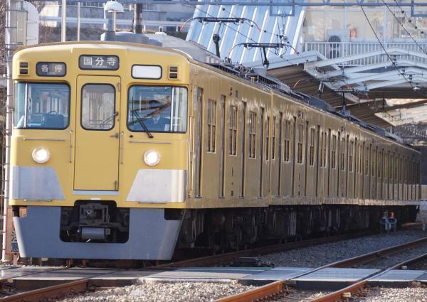 2017-02-04 西武2015F 各停国分寺行き 6262レ