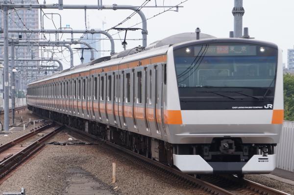2017-07-16 中央線E233系トタT9編成 快速東京行き