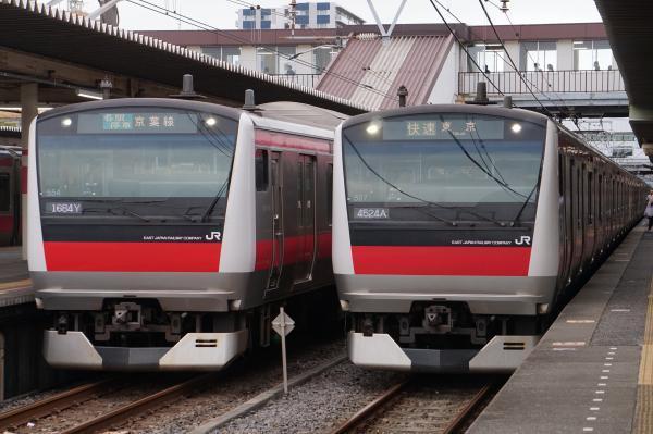 2017-07-29 京葉線E233系ケヨ554編成 ケヨ507編成