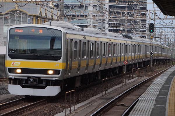2017-07-29 総武線E231系ミツB15編成 千葉行き