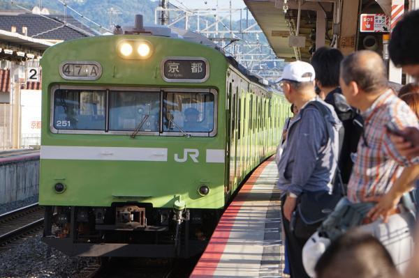 2017-08-08 奈良線103系 京都行き
