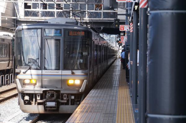 2017-08-09 223系 新快速近江今津行き