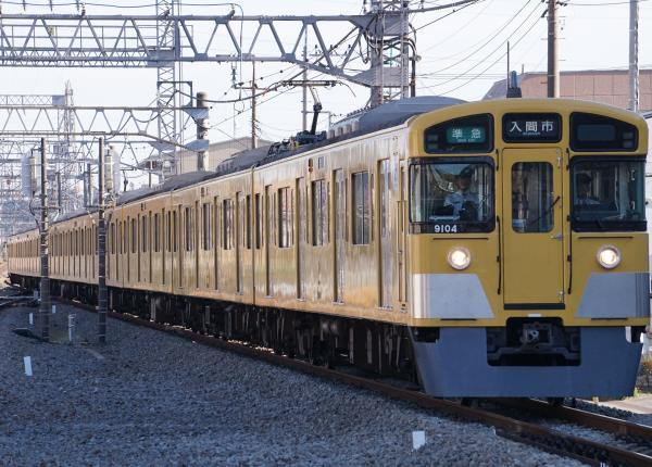2017-11-03 西武9104F 準急入間市行き 4303レ