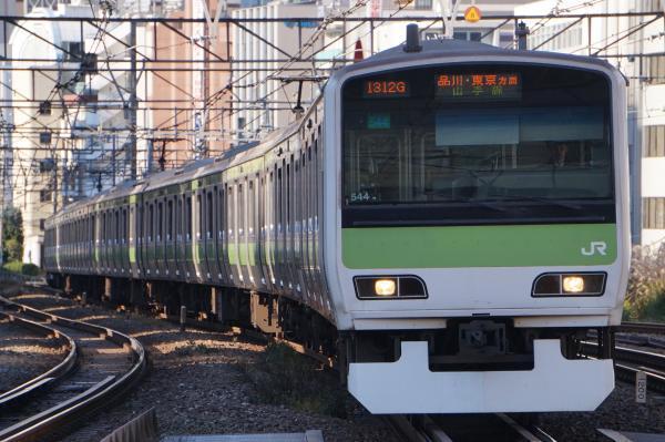 2017-11-19 山手線E231系トウ544編成 品川・東京方面行き