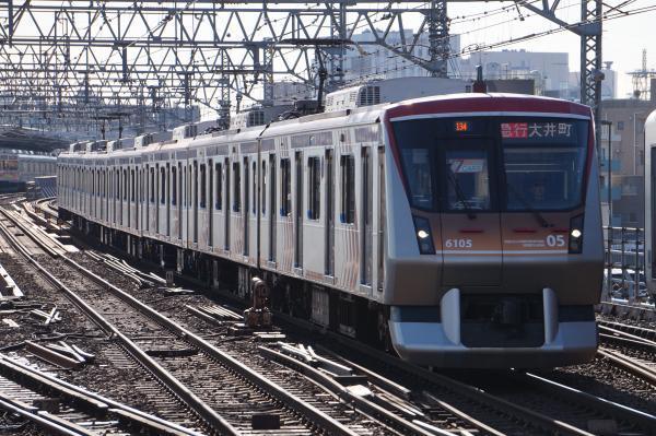 2017-12-09 東急6105F 急行大井町行き2