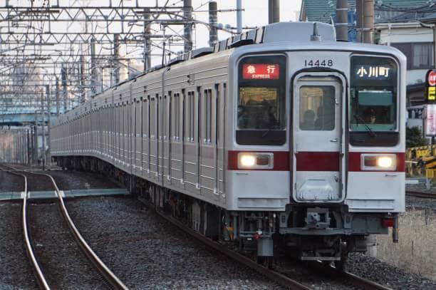 2017-12-17 東武11644F_11448F 急行小川町行き
