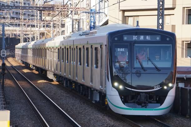 2017-12-25 東急2121F 試運転2