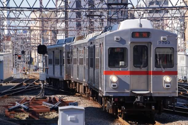 2017-12-25 東急7903F 蒲田行き