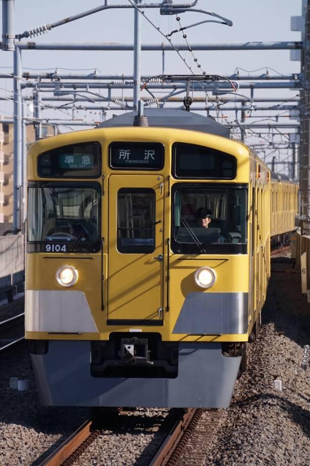 2017-12-21 西武9104F 準急所沢行き 4305レ