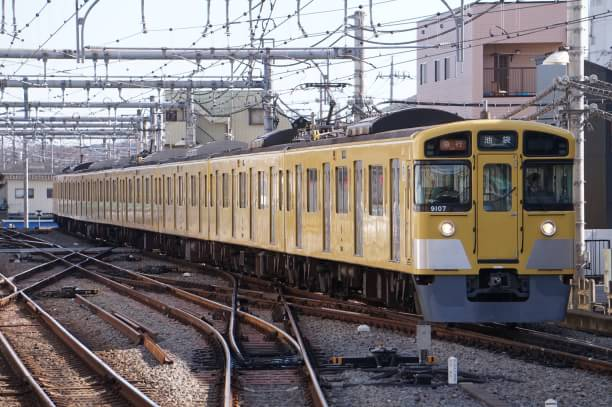 2017-12-17 西武9107F 急行池袋行き 2121レ