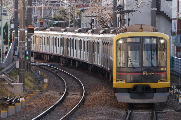 2018-01-09 東急4110F 回送