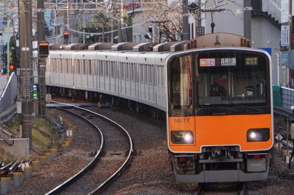 2018-01-09 東武51077F F特急森林公園行き