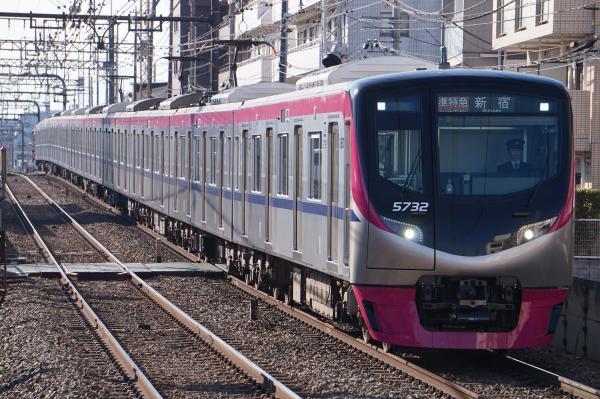 2018-01-13 京王5732F 準特急新宿行き2
