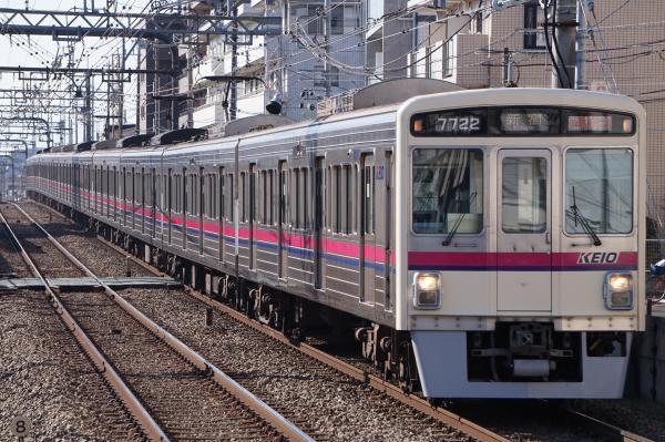 2018-01-13 京王7722F 準特急新宿行き