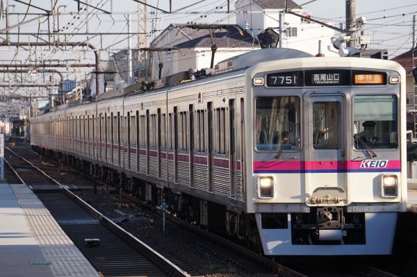2018-01-13 京王7806F_7701F 準特急高尾山口行き