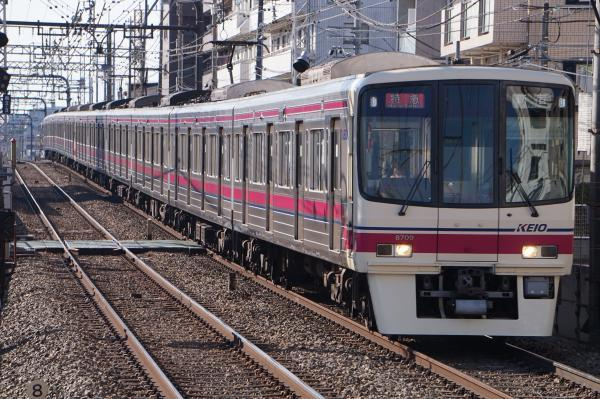 2018-01-13 京王8709F 特急新宿行き