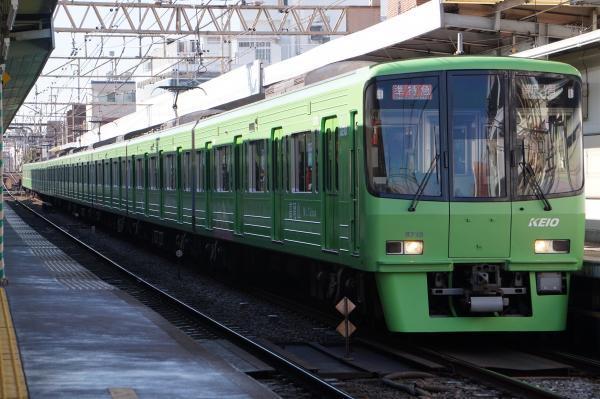 2018-01-13 京王8713F 準特急新宿行き1