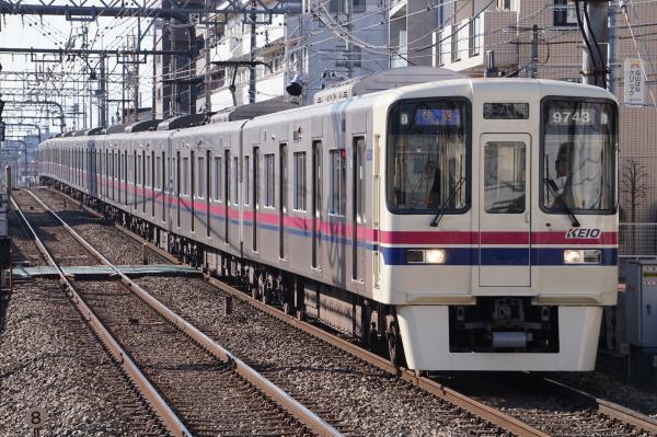2018-01-13 京王9743F 快速本八幡行き