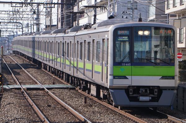2018-01-13 都営10-460F 区急本八幡行き