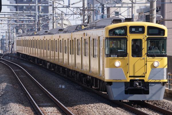 2018-02-04 西武9102F 準急飯能行き 4127レ